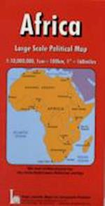 Africa, Political (Red Cover S)