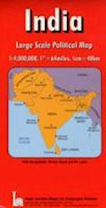 India with Bangladesh/ Bhutan/ Nepal/ Pakistan and Sri Lanka (Maps Red Cover S)
