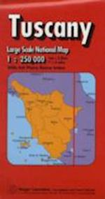Tuscany Regional Road Map (Maps Red Cover S)