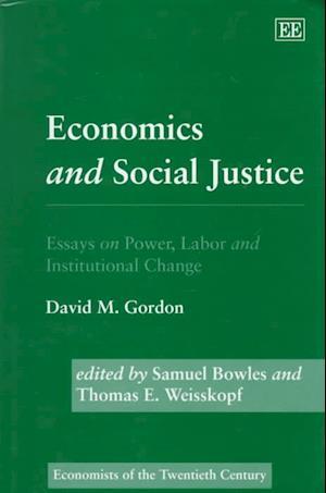 Economics and Social Justice