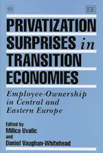 Privatization Surprises in Transition Economies