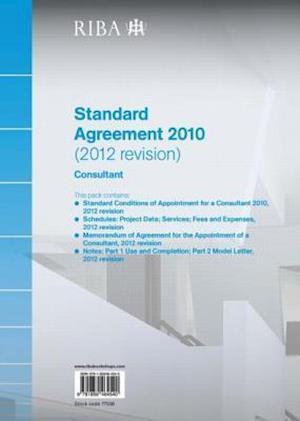 Riba Standard Agreement 2010 (2012 Revision)