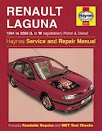 Renault Laguna Petrol and Diesel (1994-2000) Service and Repair Manual (Haynes Service and Repair Manuals)