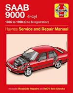 Saab 9000 (4-cylinder) Service and Repair Manual (Haynes Service and Repair Manuals, nr. 1686)