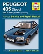 Peugeot 405 Diesel Service and Repair Manual (Haynes Service and Repair Manuals, nr. 3198)