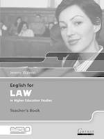 English for Law Teacher Book (English for Specific Academic Purposes)