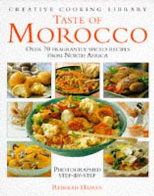 Bog, hardback Taste of Morocco af Rebekah Hassan