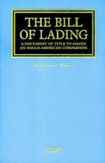 Bills of Lading (Maritime and Transport Law Library)