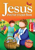 Jesus Poster Sticker Book (Candle Bible for Kids)