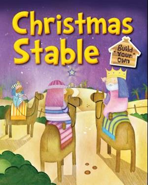 Bog, hardback Build Your Own Christmas Stable af Juliet David