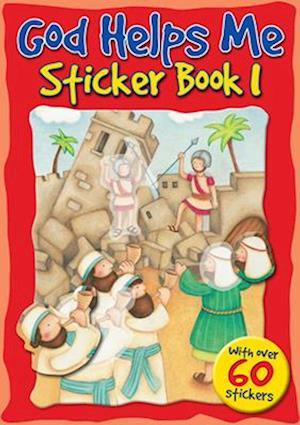 Bog, paperback God Helps Me Sticker Book 1 af Juliet David