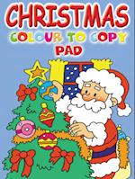 Colour to Copy Pad (Christmas colouring pads)