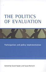 The politics of evaluation