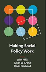 Making social policy work