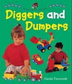 Say and Point Picture Boards: Diggers and Dumpers af Nicola Tuxworth