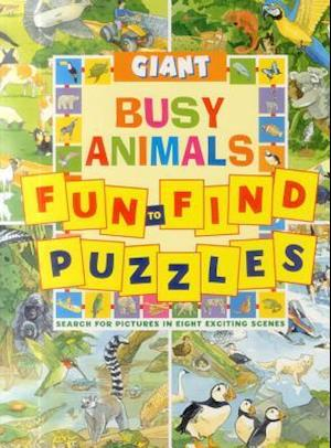 Giant Fun-to-Find Puzzles Busy Animals