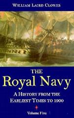 Royal Navy, Vol 5 af William Laird Clowes