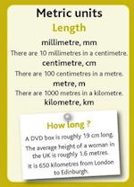 Tips Cards: Metric Units - Lengths