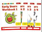 Early Years Workbooks (Letterland S)