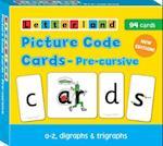 Precursive Picture Code Cards (Letterland S)