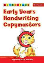 Early Years Handwriting Copymasters (Letterland S)