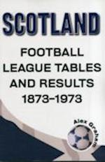 Scotland  -  Football League Tables & Results 1873 to 1973