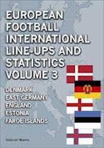 European Football International Line-Ups and Statistics