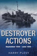 Destroyer Actions af Harry Plevy