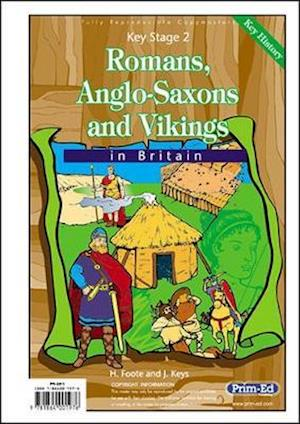 Bog, paperback Romans, Anglo-Saxons and Vikings in Britain af H Foote