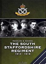 Honours and Awards the South Staffordshire Regiment 1914-1918 af Jeffrey Elson