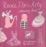 Rosie Flo's Arty Colouring Book af Roz Streeten