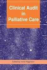 Clinical Audit in Palliative Care