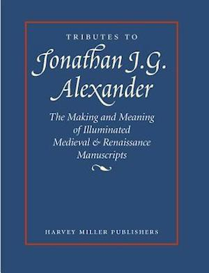 Tributes to Jonathan J.G. Alexander