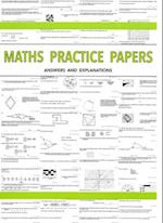 Maths Practice Papers for Senior School Entry - Answers and Explanations