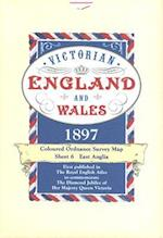 Victorian England and Wales 1897 Coloured Ordnance Survey Map