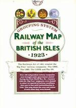Railway Map of the British Isles 1923, (Folded in Wallet)