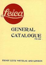 Leica General Catalogue for 1933