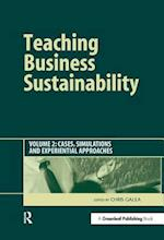 Teaching Business Sustainability Vol. 2