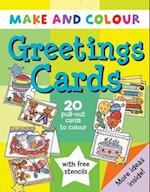 Make and Colour Greetings Cards (Make & Colour S)