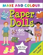 Make and Colour Paper Dolls (Make & Colour S)