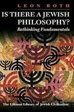 Is There a Jewish Philosophy? Rethinking Fundamentals