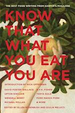 Know That What You Eat You Are (American Retrospective)