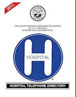 Hospital Telephone Directory, 2017 Edition