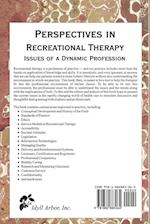 Perspectives in Recreational Therapy