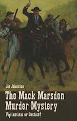 The Mack Marsden Murder Mystery af Joe Johnston
