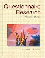 Questionnaire Research af Mildred L. Patten