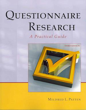 Bog, paperback Questionnaire Research af Mildred L. Patten