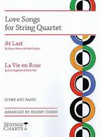 Love Songs for String Quartet af Jeremy Cohen