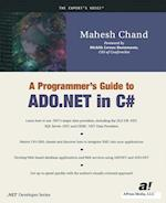 A Programmer's Guide to ADO.NET in C# (The Expert's Voice)