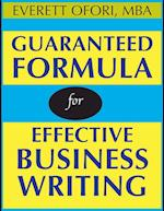 Guaranteed Formula for Effective Business Writing